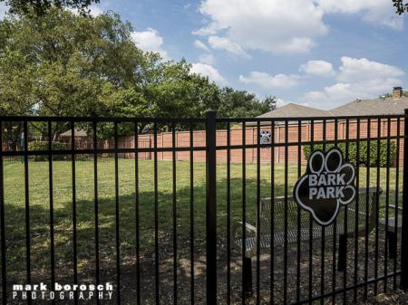 Dog Park | Landmark at Collin Creek Apartment Homes in Plano, TX