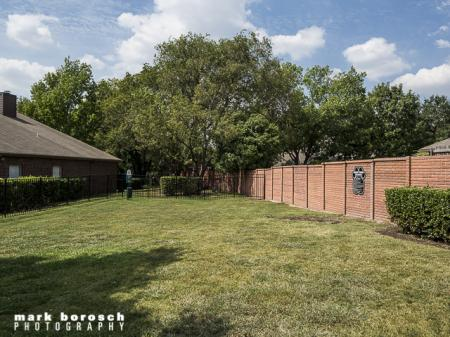 Dog Park for Residents | Landmark at Collin Creek Apartment Homes in Plano, TX