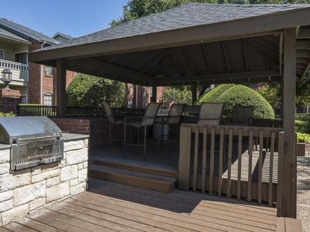 Covered Patio | Crestmont Reserve Apartment Homes