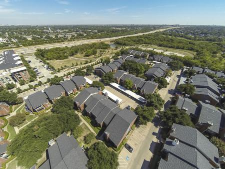 Aerial View of Crestmont Reserve Apartment Homes