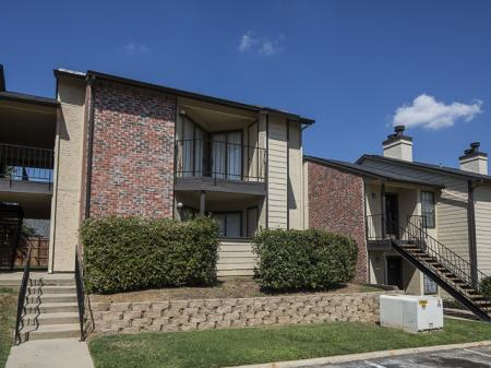 Private Patios | Kensington Station Apartment Homes in Bedford, TX