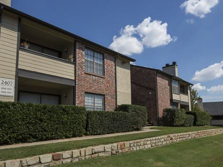 Patios | Kensington Station Apartment Homes in Bedford, TX