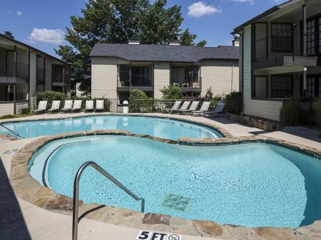 Swimming Pool | Kensington Station Apartment Homes in Bedford, TX