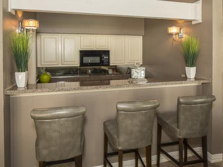 Resident Kitchen | Kensington Station Apartment Homes in Bedford, TX