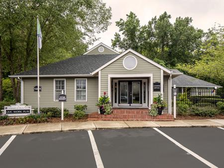 Leasing Center | Landmark at Chesterfield Apartment Homes in Pineville, NC