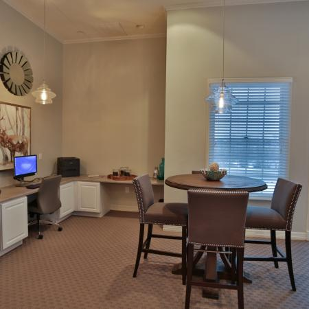 The Manor of Arborwalk | Apartments for Rent in Lee's Summit, Mo | Business Center