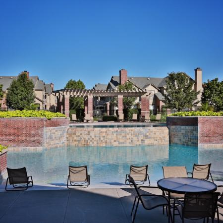 The Manor of Arborwalk | Apartments for Rent in Lee's Summit, Mo | Pool Waterfall