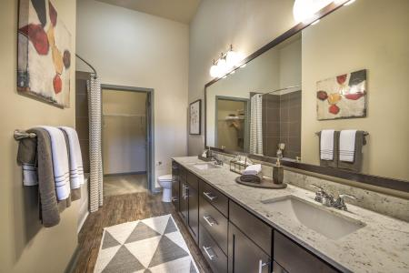The Nexus Lakeside | Apartments for Rent in Flower Mound, TX | Bathroom