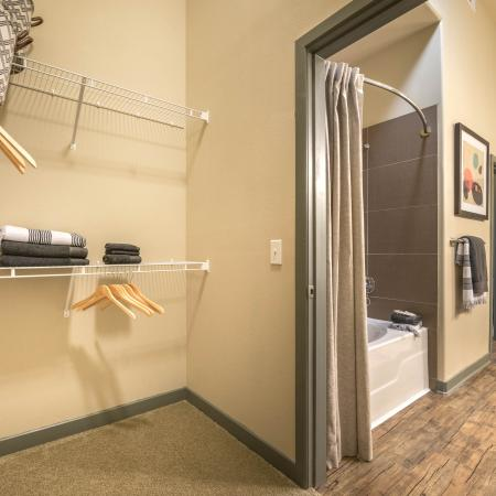 The Nexus Lakeside | Apartments for Rent in Flower Mound, TX | Closet