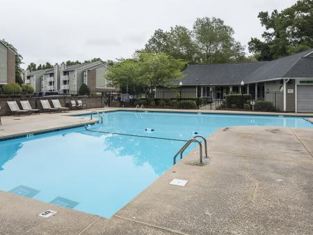 Swimming Pool | Landmark at Chesterfield Apartment Homes in Pineville, NC
