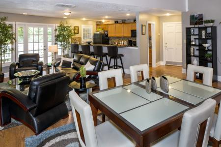 Resident Lounge | Landmark at Chesterfield Apartment Homes in Pineville, NC