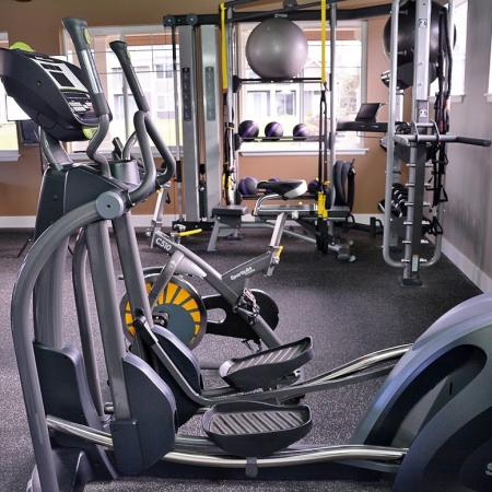 Resident Fitness Center | Apartments Fife, WA | Port Landing at Fife