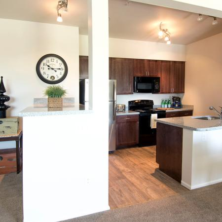 Spacious Living Room | Apartments in Fife, WA | Port Landing at Fife