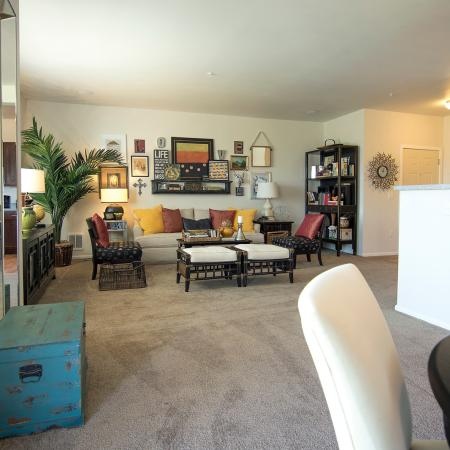 Elegant Living Room | Apartments for rent in Fife, WA | Port Landing at Fife