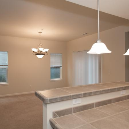 Townhome dining area