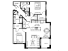 Corner unit w/extra large windows-9 foot+ ceilings-Stainless steel appliances-Wood plank floors-Extra large quartz kitchen island-Granite countertops in baths -Full-size washer and dryer-Walk in master closet with window-Large patio or deck