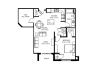 9 foot ceilings-Stainless steel appliances-Wood plank floors-Large Quartz kitchen island-Granite countertops in baths -Full-size washer and dryer-Oversized windows-Large patio