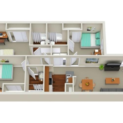 3 bedroom apartment Sacramento