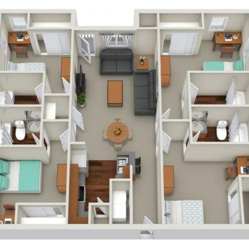 4 bedroom apartment Sacramento