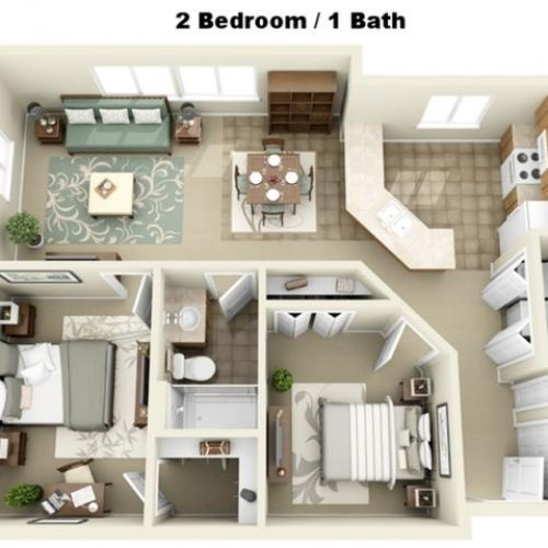 Liberty Square Floor Plan