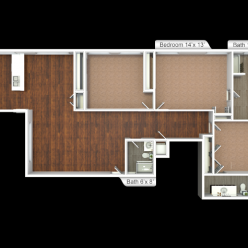 Floor Plan 4 | Ninety9Fifty5