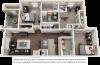 Oakleyl 3 bedrooms 3 bathrooms floor plan