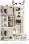 2 Bed 2 Bath - Reserve