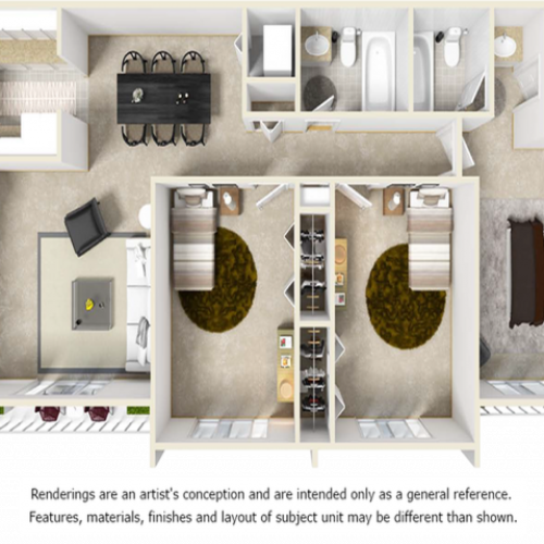 The Lantana w/ Premium Finishes, Wood Style Floor
