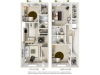 AS43-3J 3 bedrooms 3 bathrooms floor plan