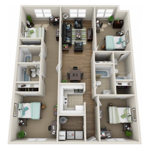 The Avenues B4 with Premium Finishes Floor Plan