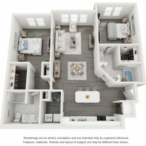 Royal Palm floor plan