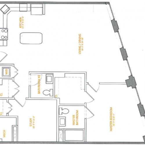 Floor Plan 4 | The Cliffs