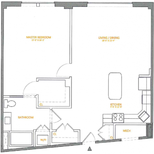 Floor Plan 2 | The Cliffs 4
