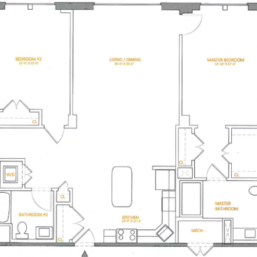 Floor Plan 4 | The Cliffs 4