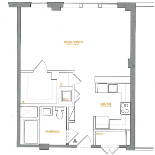 Floor Plan 6 | The Cliffs 4