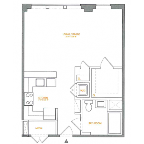 Floor Plan | The Cliffs 5