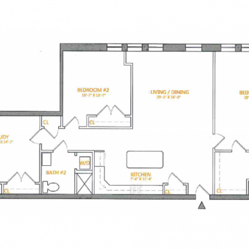Floor Plan 2 | The Cliffs 5