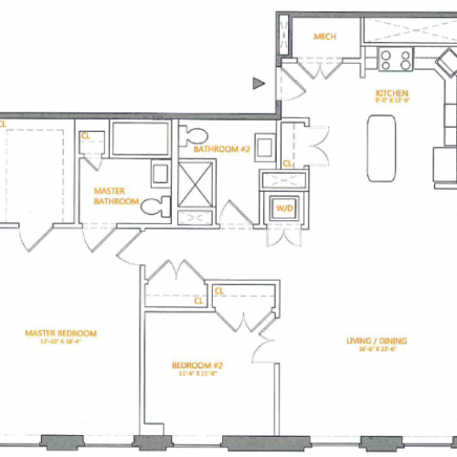 Floor Plan 6 | The Cliffs
