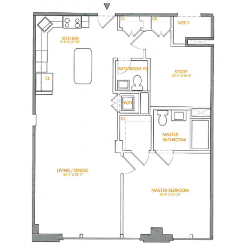 Floor Plan | The Cliffs 2