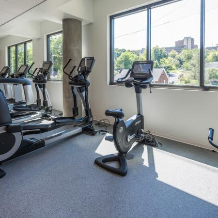 elliptical, treadmill, view