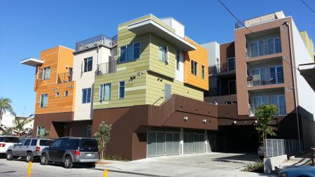 balcony, apartment, California
