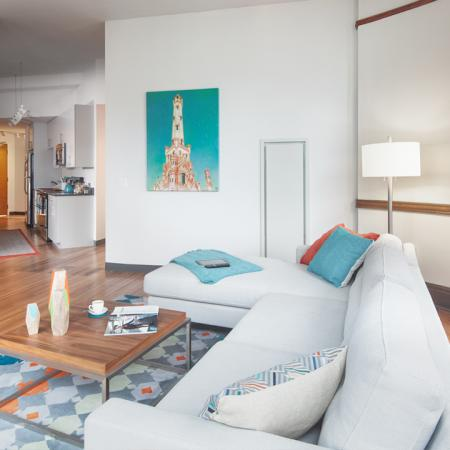 furnished with Flatscreen TV, cable, Loyola
