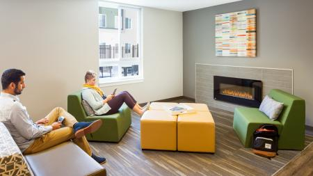 fire place, social, Southern Illinois University