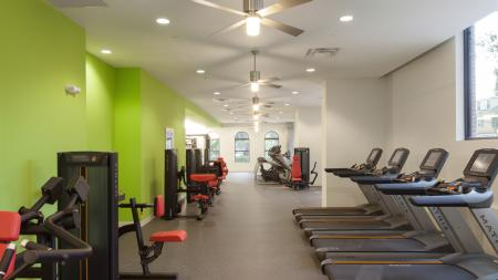 Work Out Center, elliptical, treadmill