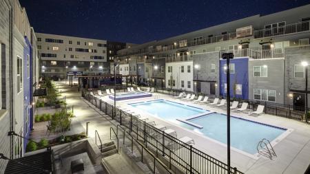 apartments, Champaign, social, lounge