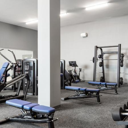 Work Out Center Amenity, Fitness Center, Weight Machines, Free weights, elliptical, treadmill, sport court, gym