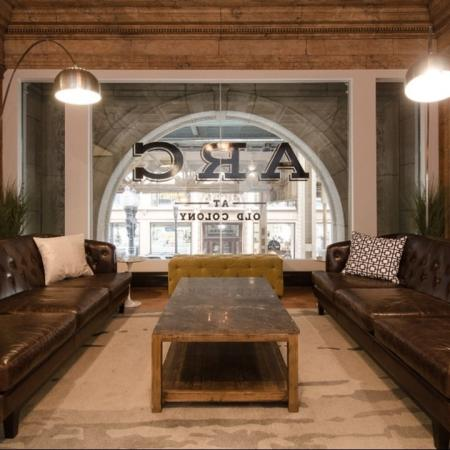 seating area, study lounge, Downtown Chicago