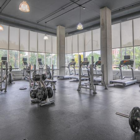 health center, weights, Champaign Urbana, University