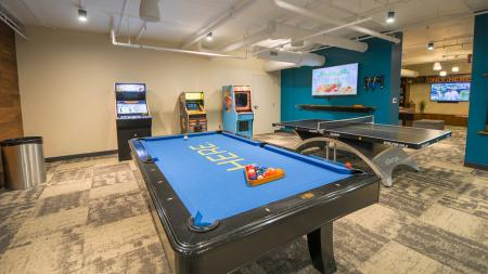 Pool, Ping Pong, Game Room, Students, College