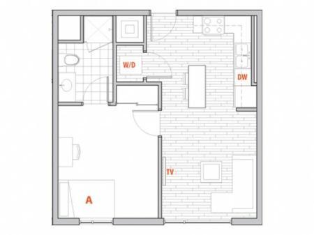 1 x 1 Terrace